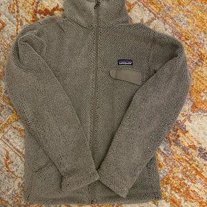 Patagonia re-tool fleece full zip jacket W's S
